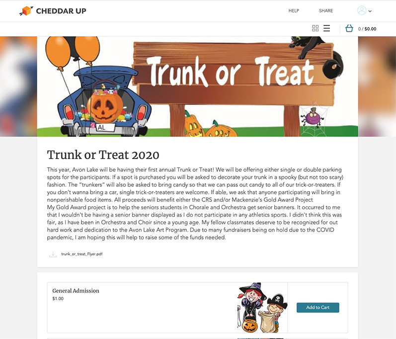 Trunk or Treat Collection