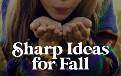 5 Sharp Ideas for Fall Fundraisers